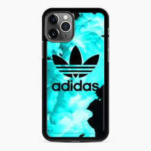 Load image into Gallery viewer, Adidas Logo Smoke Blue iPhone 11 Pro Case
