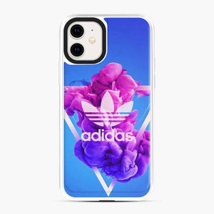 Adidas Logo Smoky Triangle Blue iPhone 11 Case