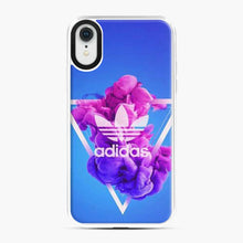 Load image into Gallery viewer, Adidas Logo Smoky Triangle Blue iPhone XR Case