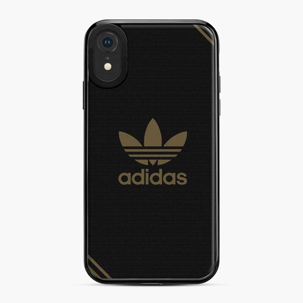 Adidas Logo Style Gold Viber Carbon iPhone XR Case