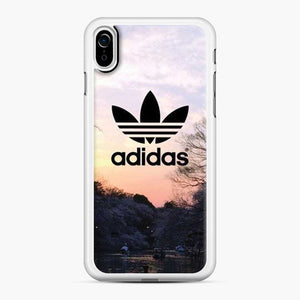 Adidas Logo Sunset iPhone XR Case