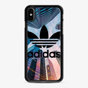 Adidas Logo Tall Building iPhone X/XS Case