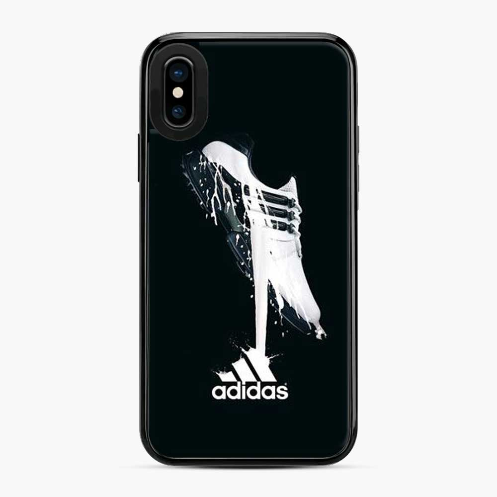 Adidas Logo The Shoes iPhone X/XS Case