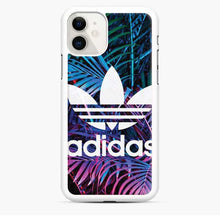 Load image into Gallery viewer, Adidas Logo Tropical iPhone 11 Case