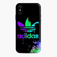 Load image into Gallery viewer, Adidas Logo Watercolor Splash iPhone X/XS Case