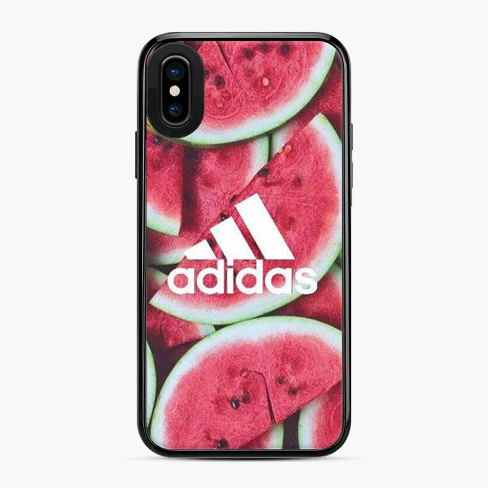 Adidas Logo Watermelon iPhone X/XS Case