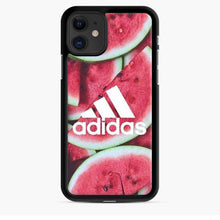 Load image into Gallery viewer, Adidas Logo Watermelon iPhone 11 Case