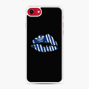 Adidas Originals Lips iPhone 7/8 Case, White Plastic Case | Webluence.com