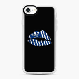 Adidas Originals Lips iPhone 7/8 Case, White Rubber Case | Webluence.com