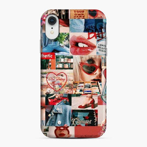 Aesthetic Collage Sxsy Grils iPhone XR Case