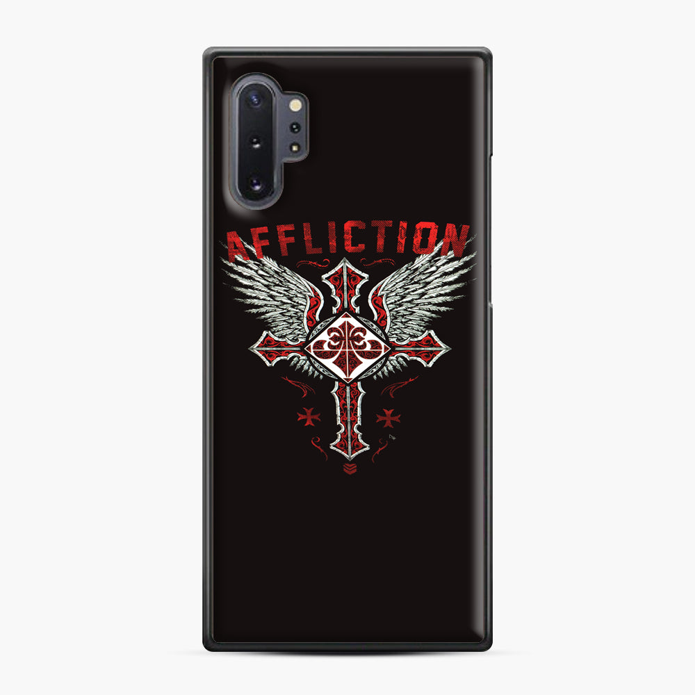 Affliction Artwork Samsung Galaxy Note 10 Plus Case, Black Plastic Case | Webluence.com