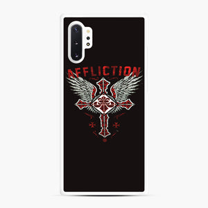 Affliction Artwork Samsung Galaxy Note 10 Plus Case, White Rubber Case | Webluence.com