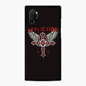 Affliction Artwork Samsung Galaxy Note 10 Plus Case, Black Rubber Case | Webluence.com