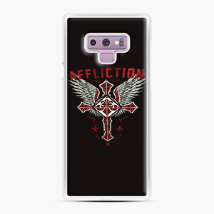 Affliction Artwork Samsung Galaxy Note 9 Case, White Plastic Case | Webluence.com