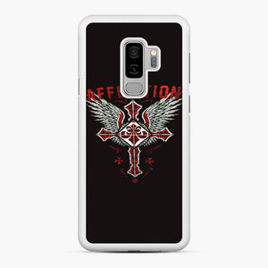 Affliction Artwork Samsung Galaxy S9 Plus Case, White Rubber Case | Webluence.com