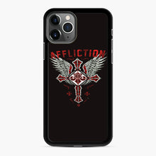 Load image into Gallery viewer, Affliction Artwork iPhone 11 Pro Case, Black Rubber Case | Webluence.com