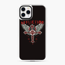 Load image into Gallery viewer, Affliction Artwork iPhone 11 Pro Case, White Plastic Case | Webluence.com