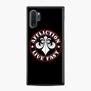 Affliction Clothing Sponsorship Samsung Galaxy Note 10 Plus Case, Black Plastic Case | Webluence.com