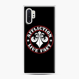 Affliction Clothing Sponsorship Samsung Galaxy Note 10 Plus Case, White Plastic Case | Webluence.com