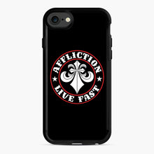 Load image into Gallery viewer, Affliction Clothing Sponsorship iPhone 7/8 Case, Black Rubber Case | Webluence.com