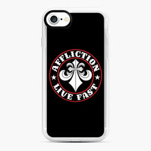 Load image into Gallery viewer, Affliction Clothing Sponsorship iPhone 7/8 Case, White Rubber Case | Webluence.com