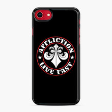 Load image into Gallery viewer, Affliction Clothing Sponsorship iPhone 7/8 Case, Black Plastic Case | Webluence.com