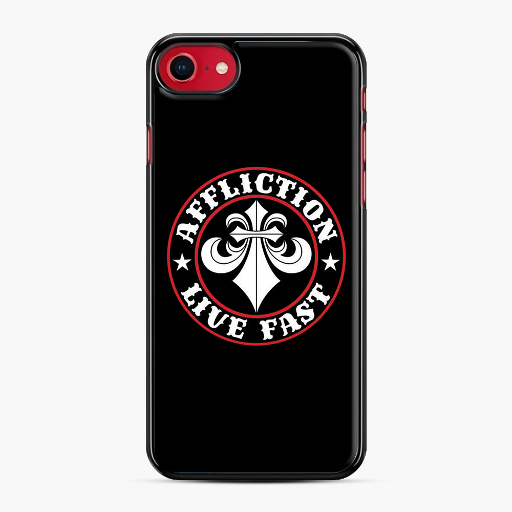 Affliction Clothing Sponsorship iPhone 7/8 Case, Black Plastic Case | Webluence.com
