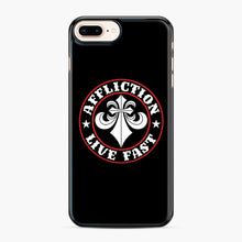 Load image into Gallery viewer, Affliction Clothing Sponsorship iPhone 7,8 Plus Case, Black Plastic Case | Webluence.com