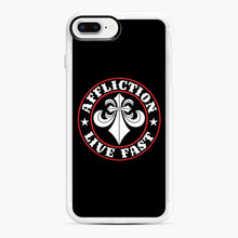 Load image into Gallery viewer, Affliction Clothing Sponsorship iPhone 7,8 Plus Case, White Rubber Case | Webluence.com