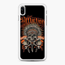 Load image into Gallery viewer, Affliction Indian Skull Orange iPhone XR Case