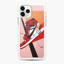 Load image into Gallery viewer, Air Jordan 1 Off White Chicago iPhone 11 Pro Case