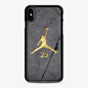 Air Jordan 23 Gold Stone iPhone X/XS Case