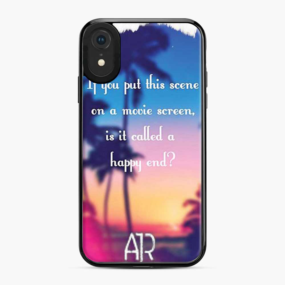 Ajr If You Put This Scene iPhone XR Case
