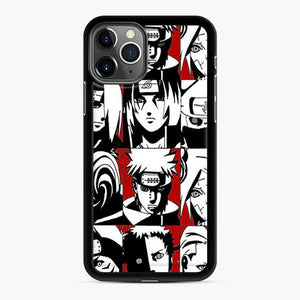 Akatsuki Member Black And White iPhone 11 Pro Case