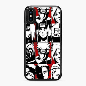 Akatsuki Member Black And White iPhone X/XS Case