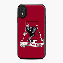 Load image into Gallery viewer, Alabama Crimson Roll Tide Red iPhone XR Case