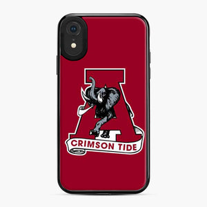 Alabama Crimson Roll Tide Red iPhone XR Case