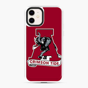 Alabama Crimson Roll Tide Red iPhone 11 Case