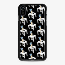 Load image into Gallery viewer, Alex Ernst X David Dobrik Smashing Table iPhone XR Case