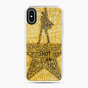 Alexander Hamilton Broadway Musical iPhone X/XS Case