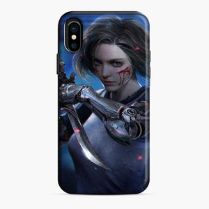 Alita Battle Angel Blood On The Cheek iPhone X/XS Case