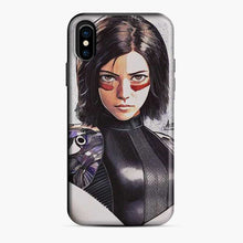 Load image into Gallery viewer, Alita Battle Angel Fanart iPhone X/XS Case