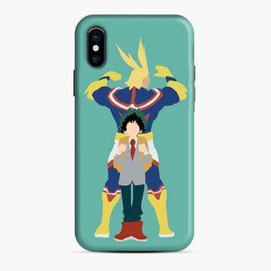 All Might And Biku No My Hero Academia iPhone X/XS Case