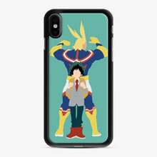Load image into Gallery viewer, All Might And Biku No My Hero Academia iPhone X/XS Case