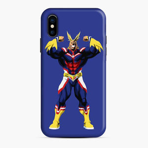 All Might My Hero Academia Power Blue iPhone X/XS Case