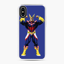 Load image into Gallery viewer, All Might My Hero Academia Power Blue iPhone X/XS Case