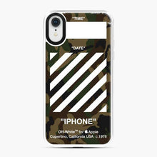 Load image into Gallery viewer, All Variant Off White Army iPhone XR Case