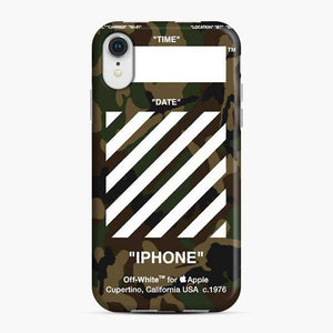All Variant Off White Army iPhone XR Case