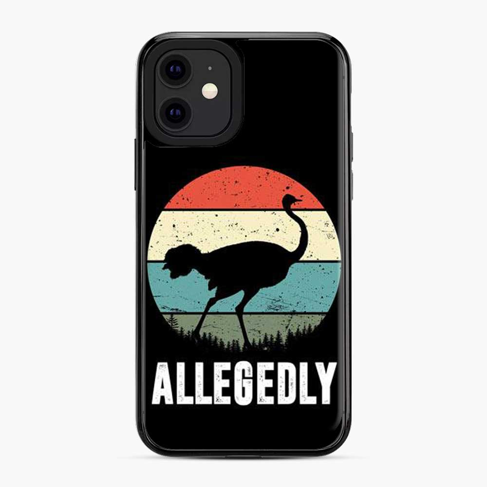 Allegedly Ostrich Retro iPhone 11 Case