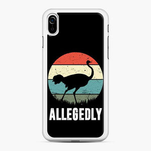 Allegedly Ostrich Retro iPhone XR Case